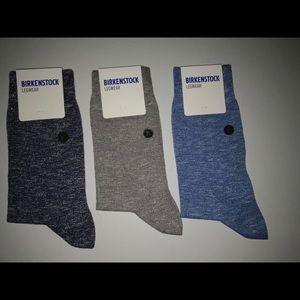 3 pair men's Birkenstock socks